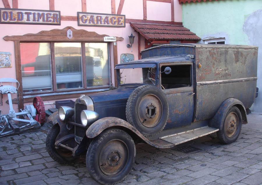 Citroen Ac4 Lieferwagen 1929